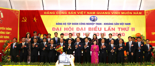 2nd Vinacomin Party Congress achieves great success