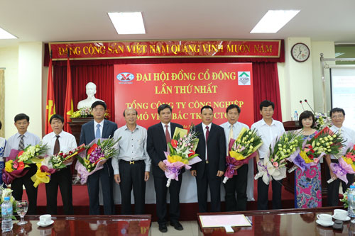 First Annual General Meeting of Viet Bac Mining Industry Corporation successfully taken place