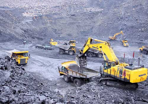 Cao Son Coal Company produces over 2.7 million tons of coal in 9 months